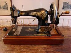 Singer sewing machine 28, 1910