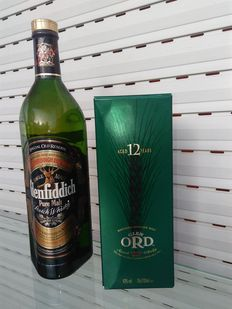 2 bottles - Glenfiddich Special Reserve & Glen Ord 12 years old