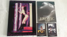 Photography; 2 erotic picture volumes by Jens Brüggemann - 1999/2003