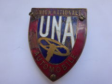 """Union Nationale Automobile"" grille badge"