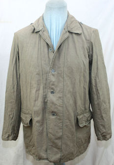 Canvas jacket field Division summer field blouse uniform DAK Africa Corps / southern front drill HBT jacket M41