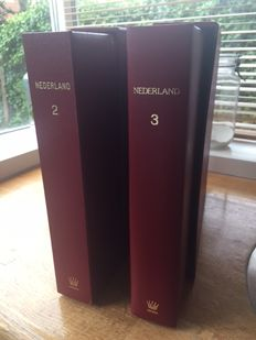 The Netherlands 1971/2001 - collection in two Importa albums with coffers