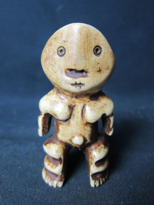 Antique ivory figure - BOA - D.R. Congo