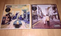 Great Oasis 2 Album Lot; Oasis - Definitely Maybe + Oasis - What`s The Story Morning Glory