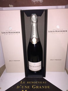 Louis Roederer Brut Premier champagne - 3 bottles in box
