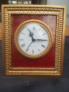 Hour Lavigne table clock, painting model - 1950s/1960s