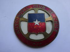 Plate / badge - Automobile Club de Chile