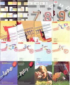 The Netherlands 1964/2001 - Set of 17 year collections + collection in album