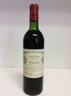 1972 Chateau Cheval Blanc, 1er Grand Cru Classe, Saint-Emilion , France , 1 bottle 0.75 L