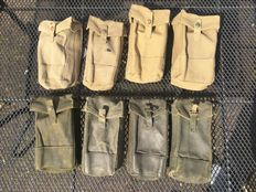 Lot of 8x Brittish bren ammo pouch