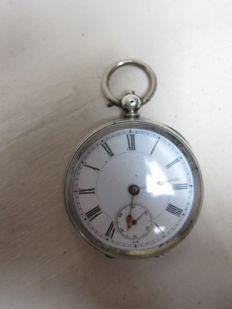 Pocket watch with key winding – ca. 1880