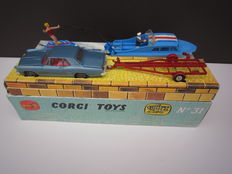 Corgi Toys - Scale 1/43 - Gift Set 31 Buick Riviera and Cabin Cruiser