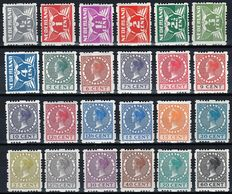 The Netherlands 1928 – Four-sided syncopated perforations – NVPH R33/R56
