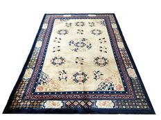 Fantastic Imperial Chinese rug: Kangxi Beijing antique finish, 303 x 206 cm.