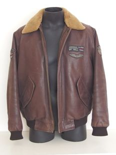 Pall Mall – Leather aviator jacket
