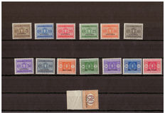Eritrea 1926-1934 – Postage due – Italy – Overprinted with 'Colonia Eritrea'