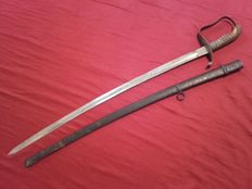 Infantry officer's sword K u K Army (Austrian Empire) manufacturer Weyersberg (WKC) model 1861
