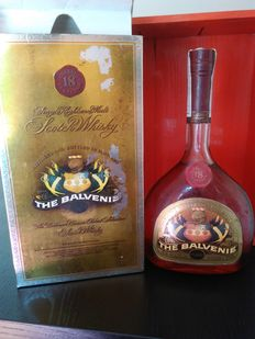 Balvenie 18 years old 1980's - rare Portugese import bottle