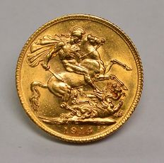 United Kingdom - Sovereign 1914 George V - gold