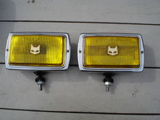 Two nice used SEV Marchal Type 850 fog lights from the 1970s/1980s