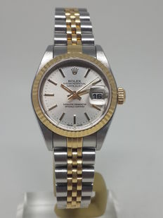 Ladies Rolex 79173 Oyster Perpetual Datejust Jubilee Y Serie No Holes Case - 2002