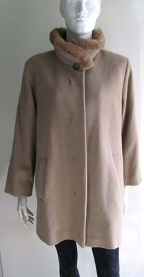 Damo Donna – Wool and cashmere coat