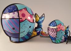 Romero Britto – Whale Maxi and Mini