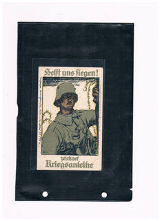 German Empire, Propaganda, postcards from before 1910-1945