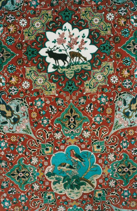 TABRIZ OF THE FAMOUS ALABAF WEAVER
