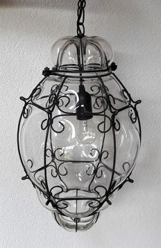 Large Venetian lamp - 2nd half of 20th century,