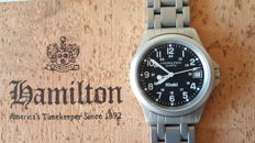HAMILTON KHAKI 33mm with two original straps