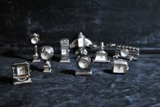 Miniature clocks collection