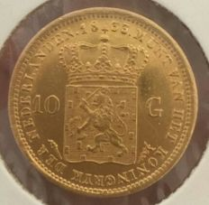 The Netherlands - 10 Guilder 1833 William I - Gold