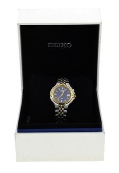 Seiko Unisex Wristwatch  – Model Reference 3M22-0D10 – New, never used