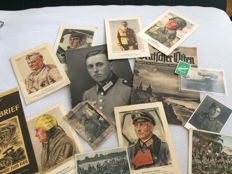 WW2 photos, newspaper, soldier pictures
