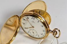 Omega Savonette - men's pocket watch  1933s