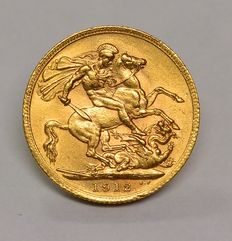 United Kingdom - Sovereign 1912 George V - gold