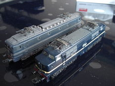 Lima H0 - 2 Electric locomotives of the NS,  NS1200 and NS 1300