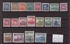 German Occupation WWII from Bohemia and Moravia - Michel 1/19 to Serbia