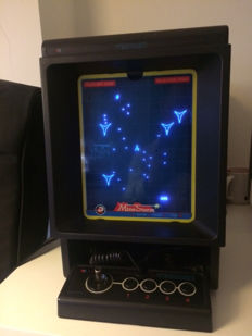 Vectrex collection - Console with 7 games 6 screen overlays