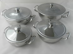 Alfra Alessi - beautiful 4 pieces bowl set.