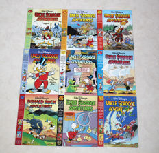 Uncle Scrooge Adventures - 9 publications - 9xsc - 1st edition of reissue (1990's)