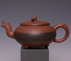 Beautiful Yixing teapot, marked - China - second half 20th century