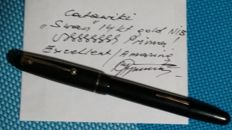 SWAN - Made in England - Vintage fountain pen with 14ct gold Nib