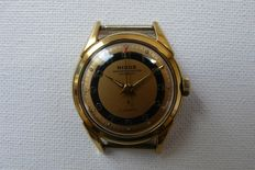 NISUS Medicus Orderly's/Doctor's Wristwatch Circa 1956