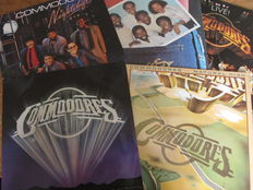 Nice Lot with 12 Albums of Earth Wind & Fire and The Commodores (3 doubles)