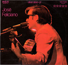 Huge collection of José Feliciano: 15 original vinyl albums (17 LPs) from 1965-1988 incl. some rare ones.