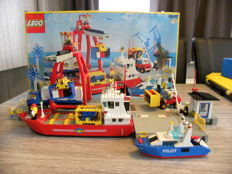 Classic Town - 6542 - Launch & Load Seaport