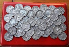 "Kingdom of Italy - 5 Lira ""Aquilotto"", 1927, Victor Emmanuel III (50 pieces)"
