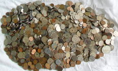 Belgium – Batch of various coins (9 kilos)